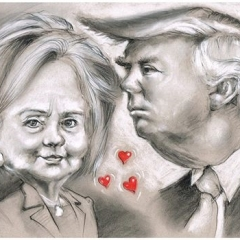 Hillary_and_Trump_Photo2Me-Portrait2U