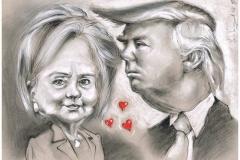 Hillary_and_Trump_Photo2Me-Portrait2U